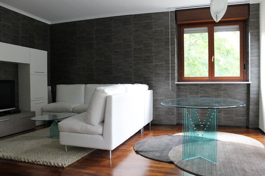 Architettura di interni tende e tendaggio via Sondrio Torino