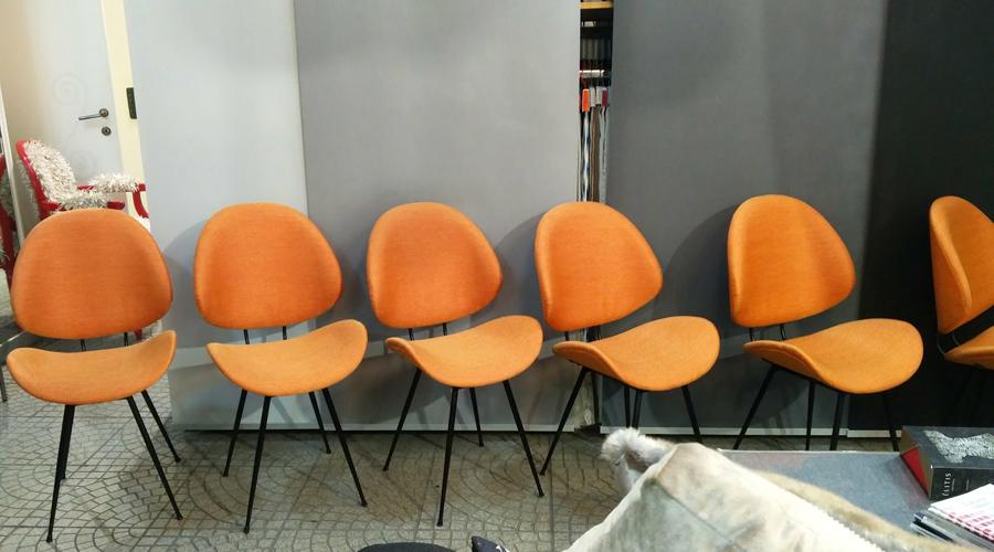 Rifacimento sedie anni 70
