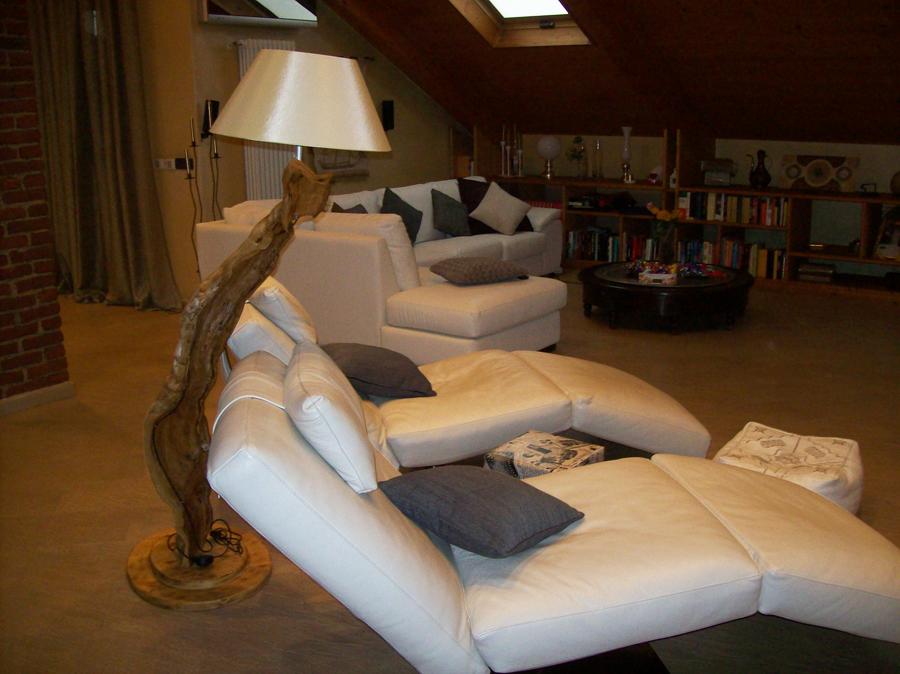 Trasformazione di divano angolare